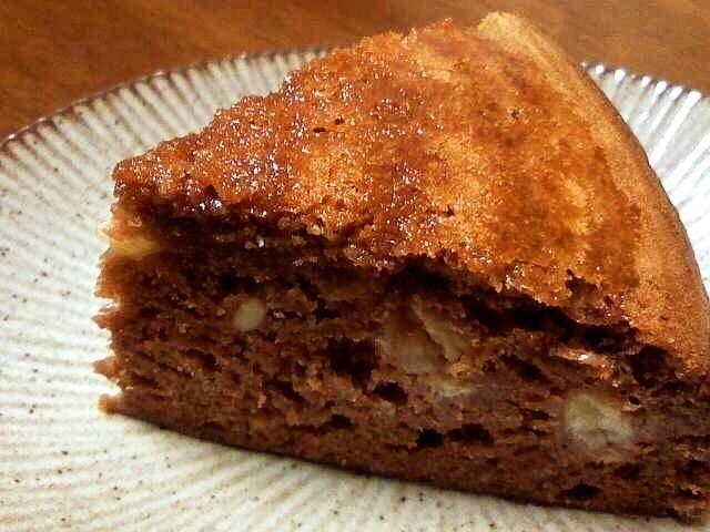 これはチョコバナナケーキ